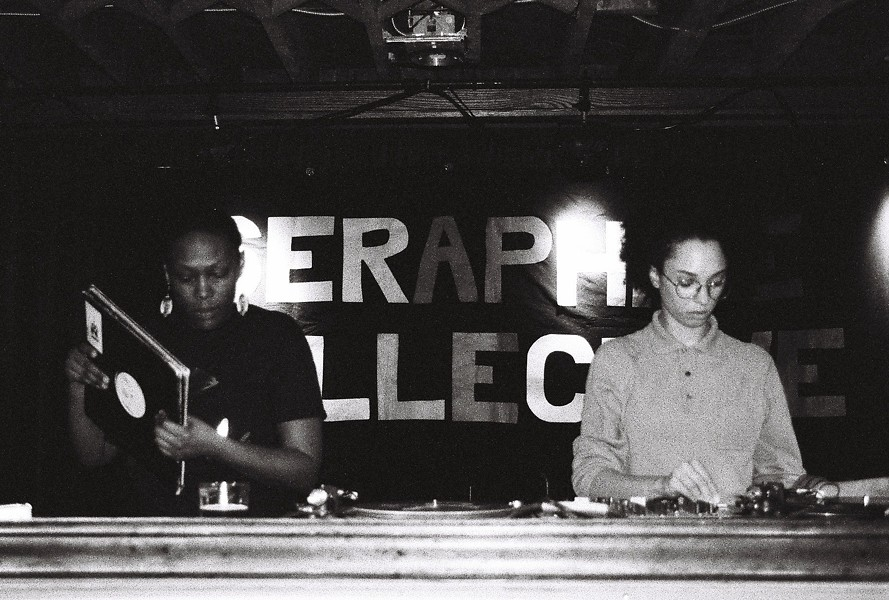 SERAPHINE COLLECTIVE IN ACTION. COURTESY PHOTO.