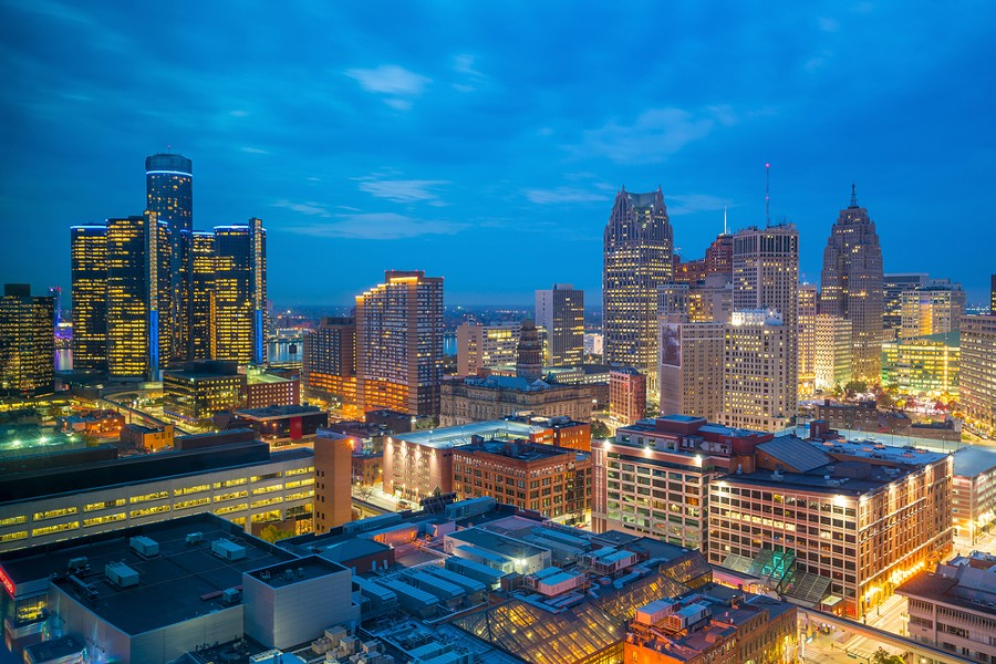 Downtown Detroit. - SHUTTERSTOCK