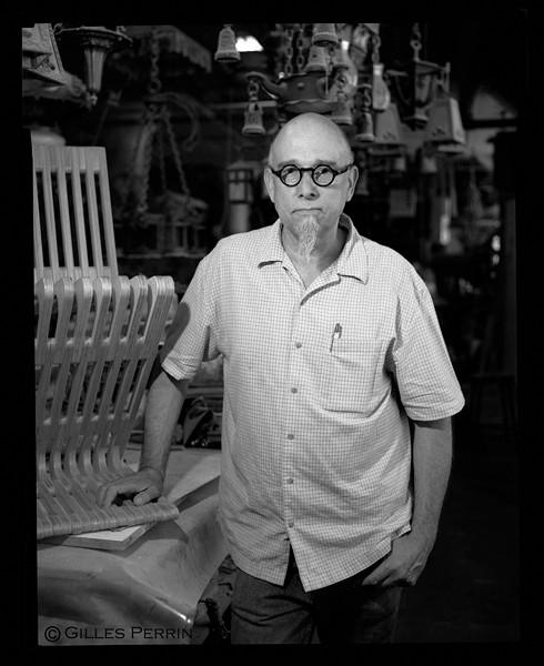 Alan Kaniarz of Möbel Link. - GILLES PERRIN