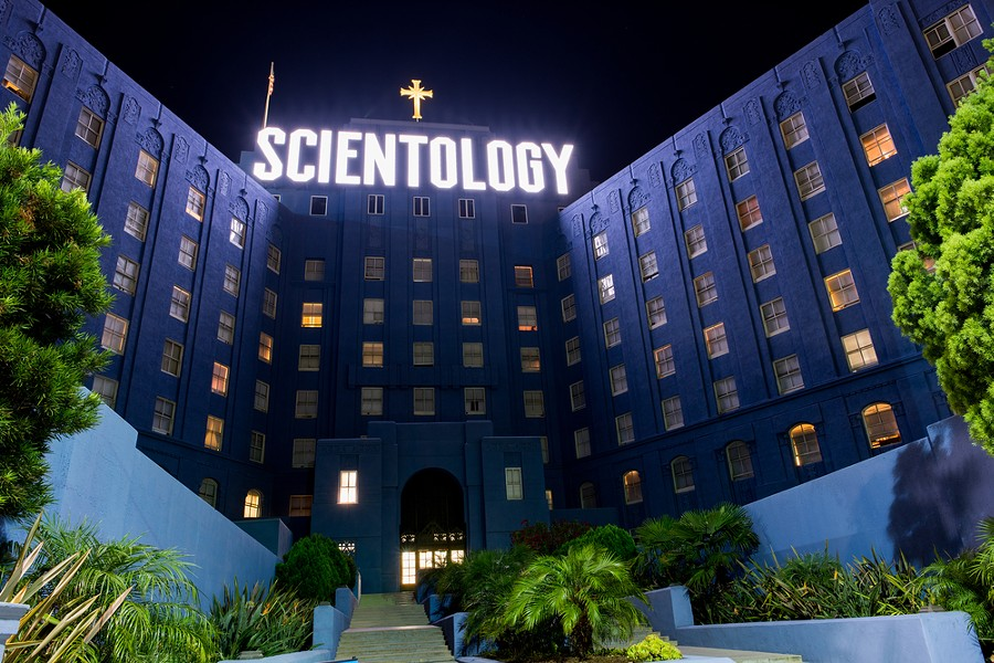 The Church of Scientology headquarters in LA, hopefully Detroit's building won't look so ominous. - SHUTTERSTOCK