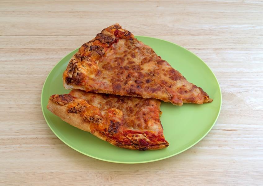 Cold pizza. - SHUTTERSTOCK.