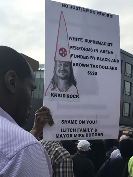 Some found bad optics in having the former Confederate flag-waving, Black Lives Mater critic Kid Rock perform the first six shows at the taxpayer-subsidized Little Caesars Arena. - JERILYN JORDAN