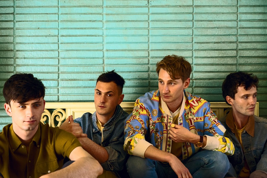 Glass Animals. - COURTESY PHOTO
