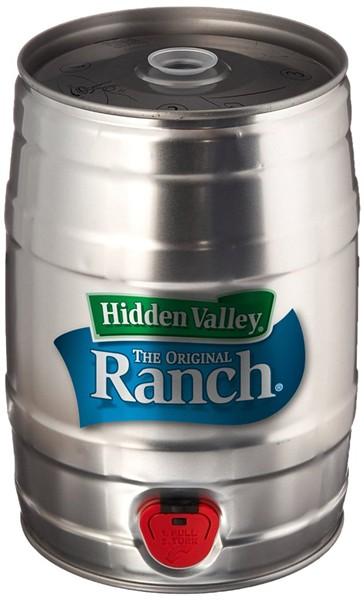 Ranch keg. - HIDDEN VALLEY