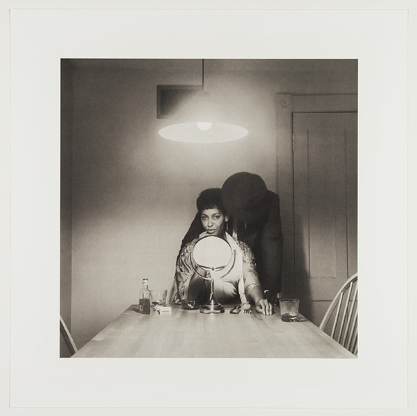 "A part of photographer Carrie Mae Weems' ""The Kitchen Table Series."" - COURTESY PHOTO"