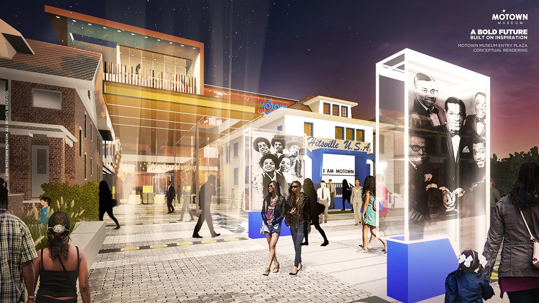 RENDERING COURTESY OF THE MOTOWN MUSEUM