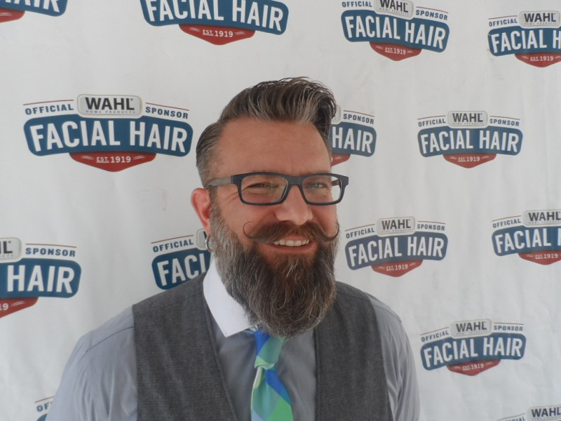 Jason Heien was named Man of the Year by Wahl. - PHOTO COURTESY OF WAHL