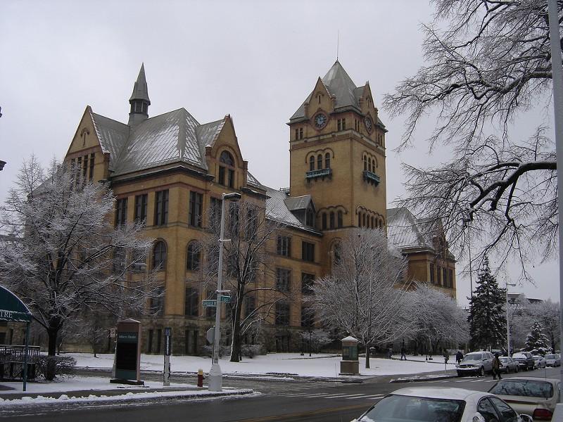 Old Main on Midtown's Wayne State University campus. - MT FILE PHOTO
