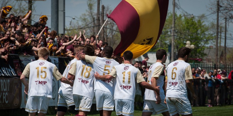 Detroit's semi-pro soccer club will host a First Division team tomorrow night