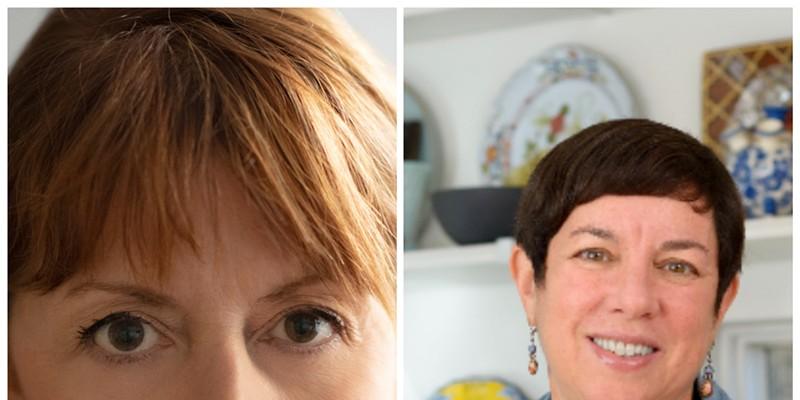 Katherine Alford and Kathy Gunst.