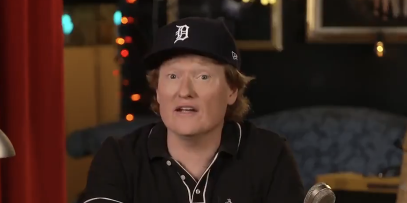 Comedy god Conan O'Brien probably just Googled 'Michigan things' for voter PSA but we don't mind