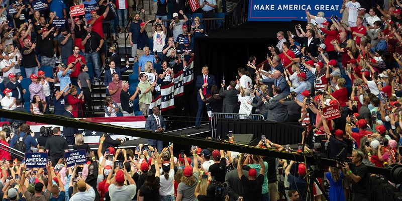 Trump is holding a Lansing rally because he doesn't care if Michiganders die from COVID-19