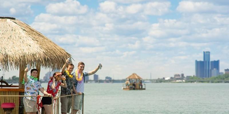 Tiki Tours Detroit is one way to get drunk on the open seas.