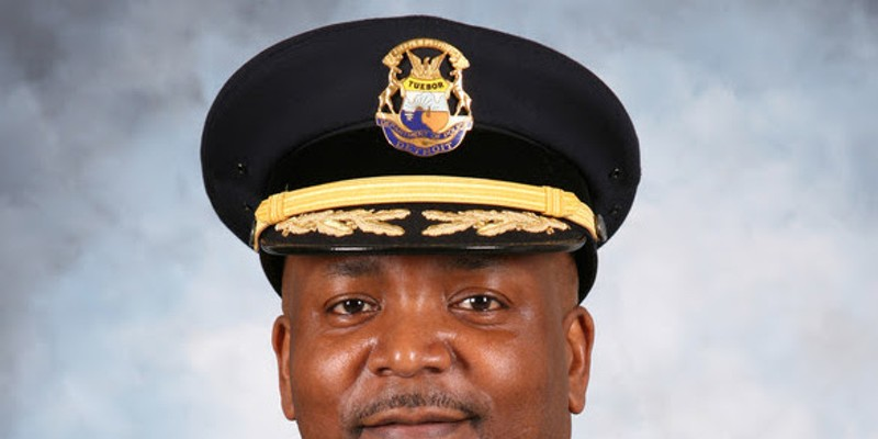 Interim Detroit Police Chief James White.