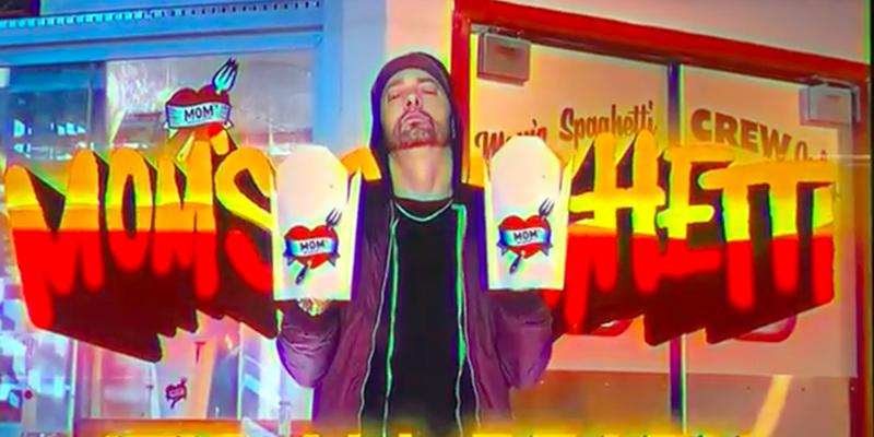Eminem's new diner Mom's Spaghetti will serve up just that starting Sept. 29.