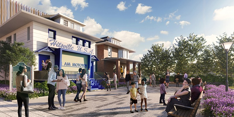 Detroit's Motown Museum unveiled renderings for its new plaza.