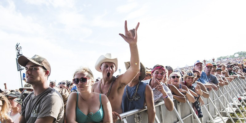The Faster Horses country music festival in 2016.