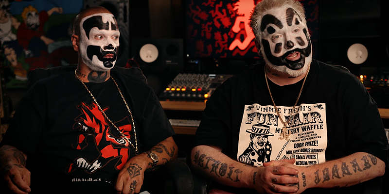 ICP's Shaggy 2 Dope and Violent J.