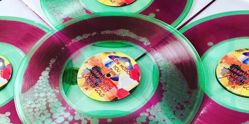 Stef Chura releases liquid and glitter vinyl version of 'Messes'