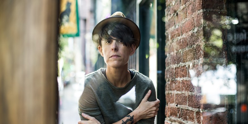 Poet and activist Andrea Gibson will make you feel something at the Shelter