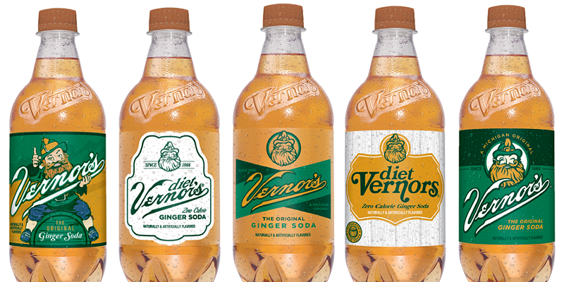 Vernor's releases limited-edition collectible bottles with vintage design