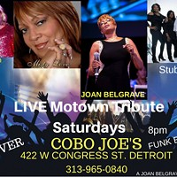 Live Motown Tribute Saturdays