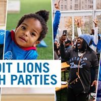 Detroit Lions Watch Parties
