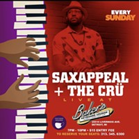 Saxappeal + The Crü Live