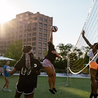 Volleyball Leagues with Come Play Detroit at Beacon Park
