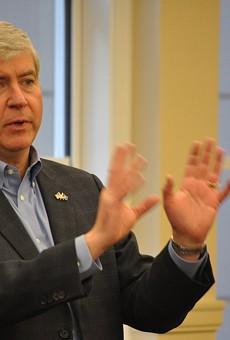 Governor Rick Snyder.