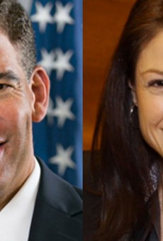Michigan attorney general Candidates Pat Miles and Dana Nessel.