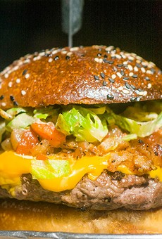 Cheeseburger from Rock City Eatery.