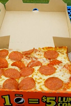 Reminder: We all get free Little Caesars on Monday because of basketball