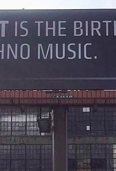 New billboard reminds public 'DETROIT IS THE BIRTHPLACE OF TECHNO MUSIC'