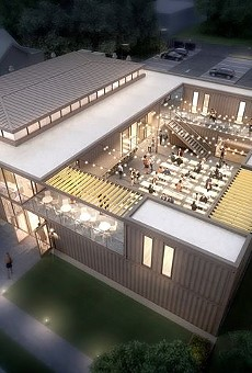 Cass Corridor shipping container food hall set for late May opening