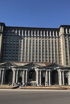Michigan Central Station.