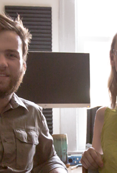 Nick Hayes and Naomi Burton, the duo behind the production company, Means of Production.