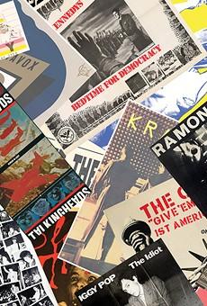 Punk rock meets visual art at a pair of shows at Cranbrook