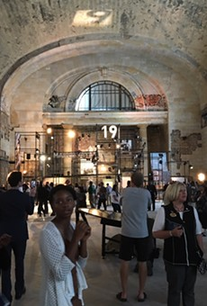 Guests were invited inside Michigan Central Station during Ford's celebration on Tuesday. An open house is available to the general public this weekend.