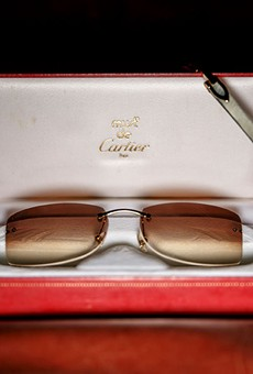 The whiter the Buffs, the more coveted the frames — Cartier's C Décor white buffalo horn frames have become a status symbol in Detroit.