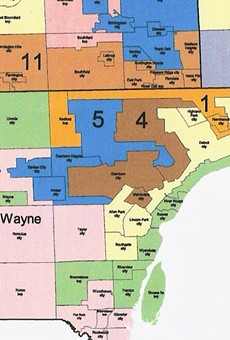 Gerrymandering foes stage protest as lawsuit advances to Michigan Supreme Court