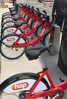 MOGO bikes in Detroit.