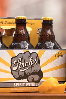 Stroh's is rolling out a new summer wheat beer