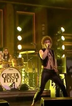 Greta Van Fleet receives standing ovation during 'Tonight Show' debut