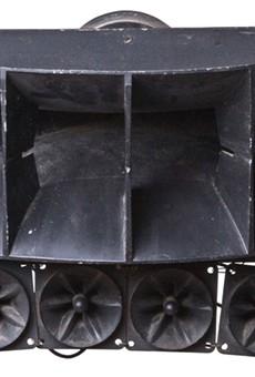 The original Club Heaven soundsystem.