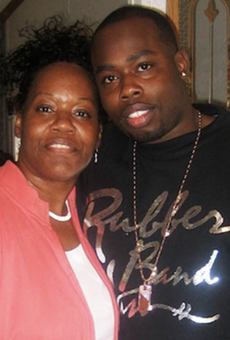 David Ware and his mother, Maudess Sutton.