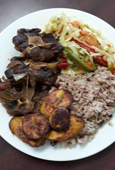 A new Jamaican restaurant is serving jerk chicken and curry goat in Warren