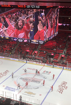 Little Caesars Arena is getting rid of its red seats