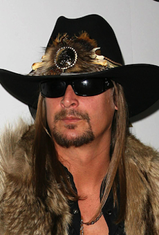 Kid Rock went to the White House but not for an entirely shitty reason