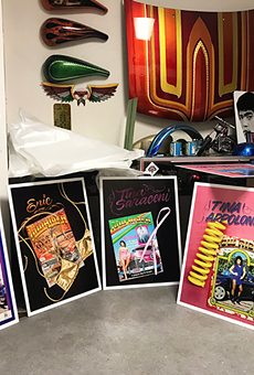 Artist Liz Cohen celebrates cover models of 'Lowrider' magazine